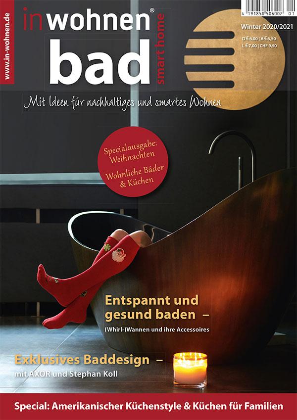 Titelseite inwohnen@ bad | Winter 2020/2021 | RAUMWERK by Adrian Wojciechowski